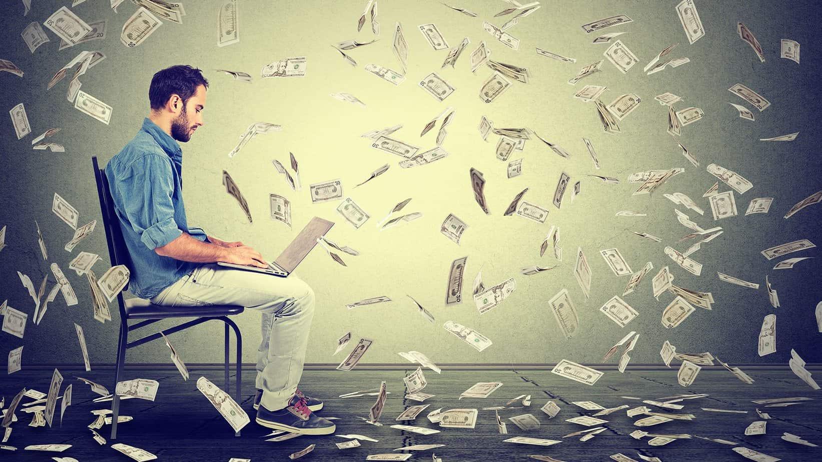 Jak vydělat milion na internetu? Těchto 10 věcí z vás udělá milionáře.