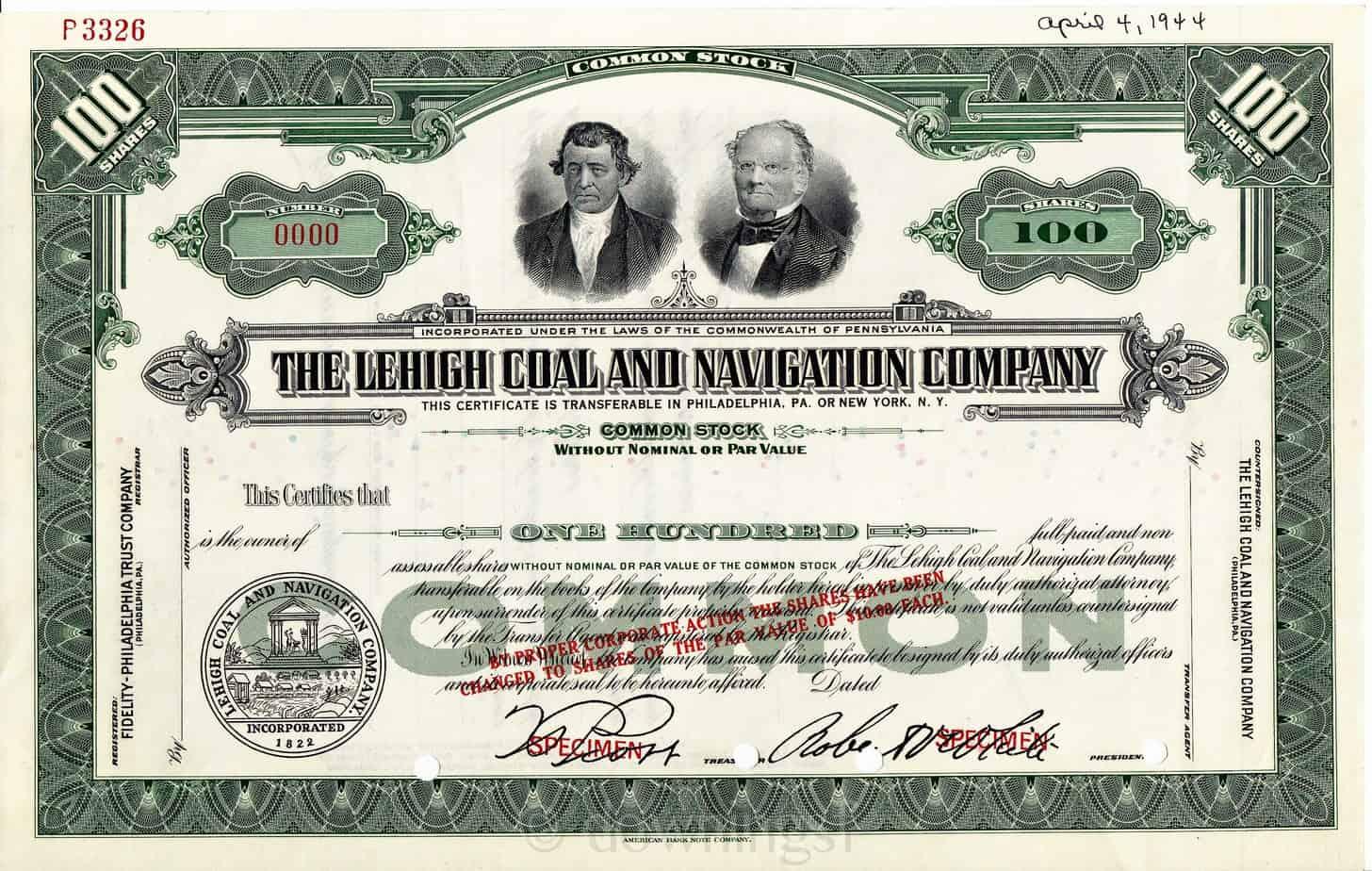 akcie certifikát