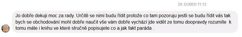 Dominik Kovařík zkušenost kniha trading