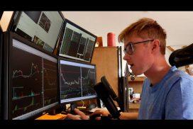 Přehled akciového trhu a moje aktuální pozice.
