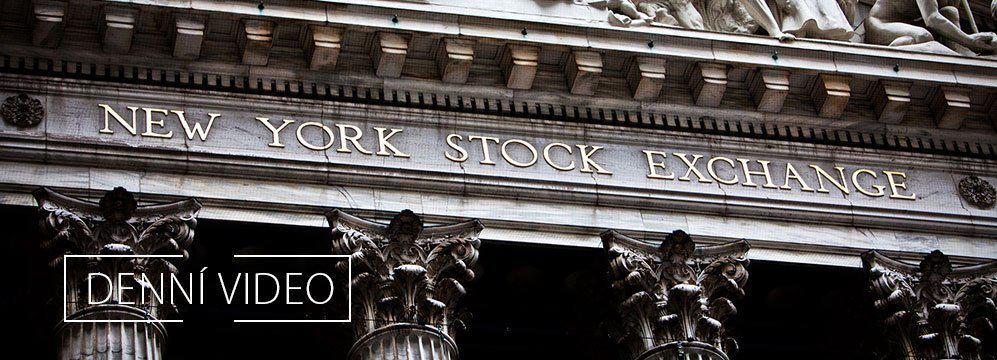 Akcie na maximech a výsledková sezóna bank před námi. Video.