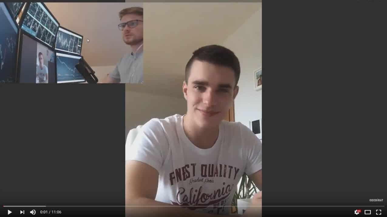 Rozhovor s Filipem, který prošel tréninkem SpreadMaster a dokázal zhodnotit účet o 25% za první měsíc.
