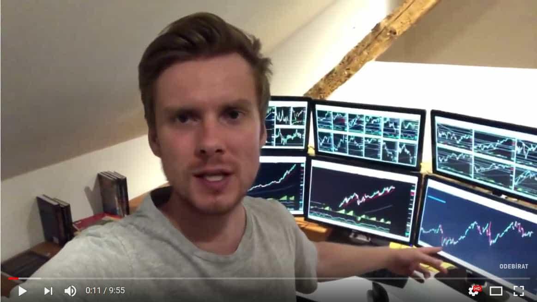 Jak to vypadá u mě v Trading Roomu a proč mám 6 monitorů?