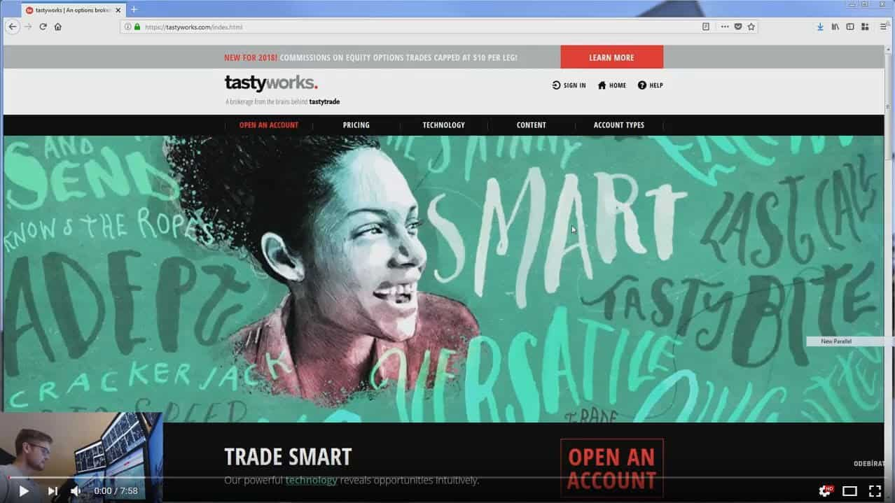 Jak stáhnout opční platformu TastyWorks + základní orientace