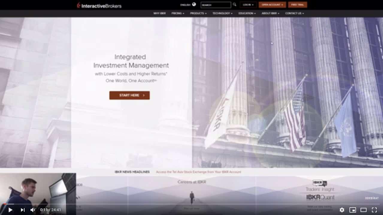 Jak založit účet u Interactive Brokers 2019 - Kompletní postup